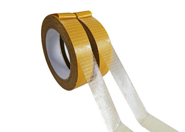 1 Inch Lebar Fiberglass Self Adhesive Mesh Tape Untuk PU Sealing Strip Dan Firestrip